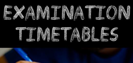 Examination-Timetable