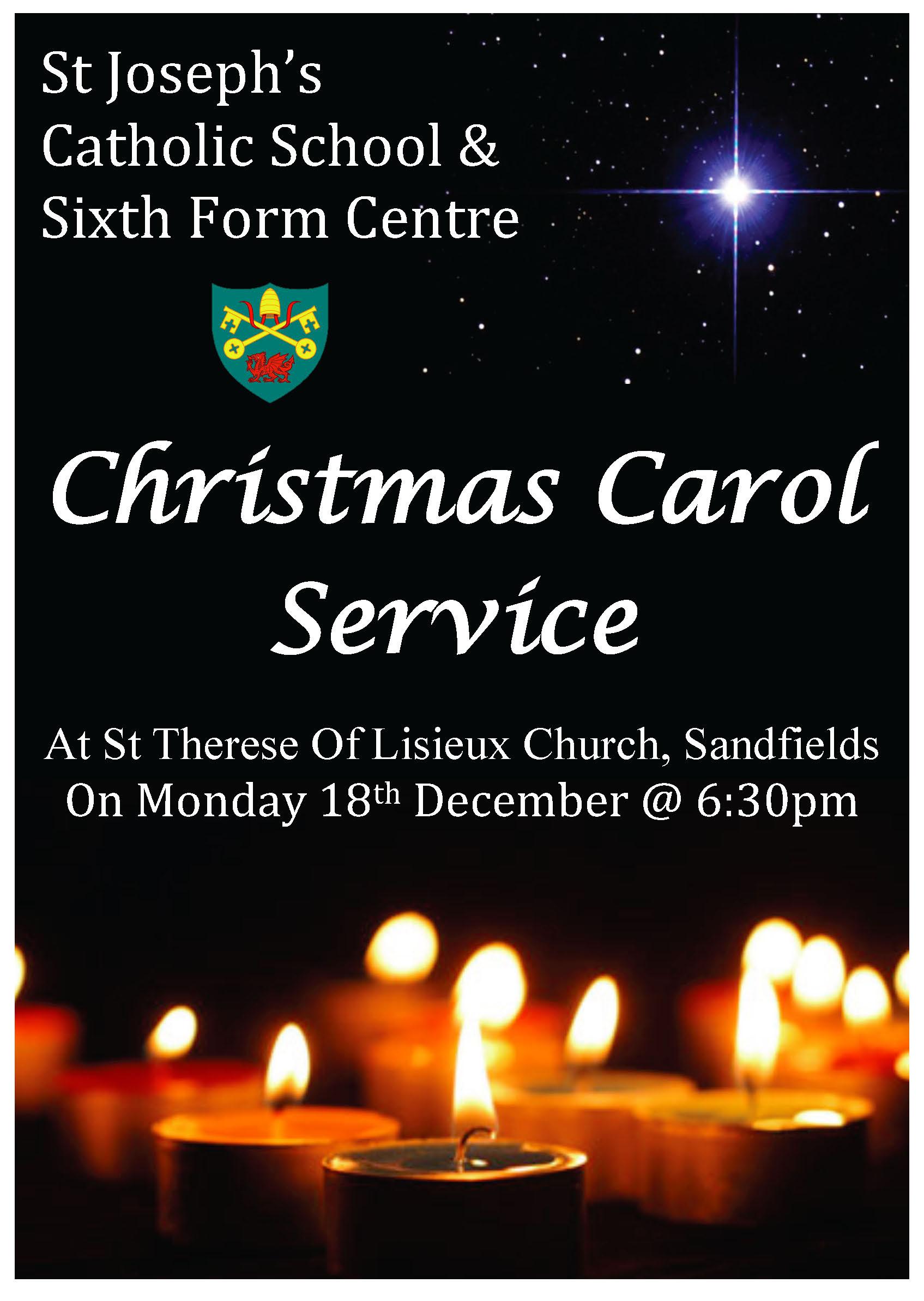 Carol Service Poster 2017