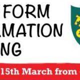6th Form Information Evening